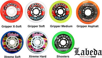 Labeda Inline Roller Hockey Skate Wheels - Pack Of 2 Wheels