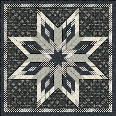 Elises Star Quilt Top - Not Quilted, Machine pieced, Made in the USA