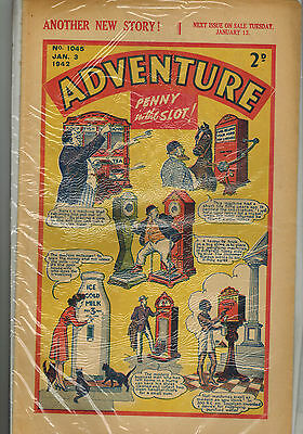 ADVENTURE COMIC 25 issues  from 1942  D. C. Thomson