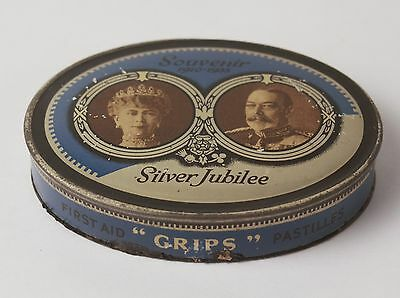 King George V Queen Mary 1935 Silver Jubilee Candy Tin