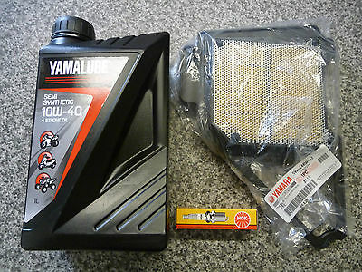 Yamaha YBR 125 YBR Custom 2008-2016 Genuine Service Kit