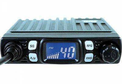 TEAM Minicom  Multistandard AM FM The Worlds Smallest CB Radio UK-40 EU-40