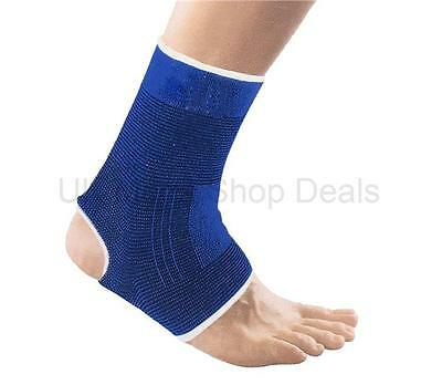 2 x Elastic Ankle Support Neoprene Protection Sport Sock Sprain Running Injury