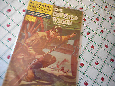 Classics Illustrated Comic Book #131 The Covered Wagon March 1956