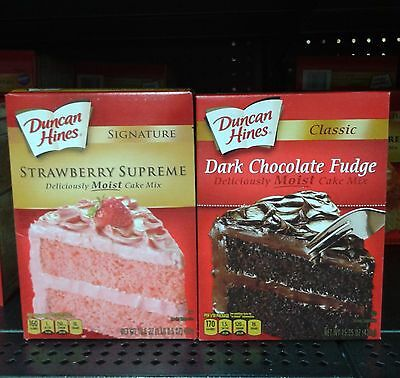 Duncan Hines ~Classic or Signature Cake Mix