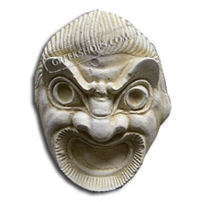 Ancient Greek Comedy Magnet, Made of Casting Stone,