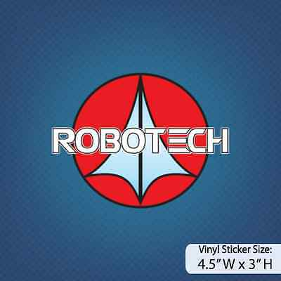 Robotech / Version C / Animation / Cartoons / Decal / Sticker