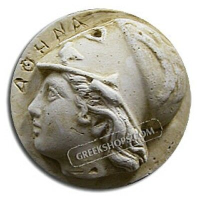 Ancient Greek Athena Magnet, Made of Casting Stone,
