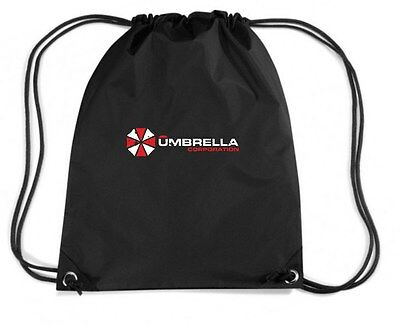 Rucksack Budget Gymsac TF0044 inspired by Resident Evil The Umbrella Corporation