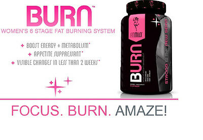 Fit Miss Burn Womens 6 Stage Fat Burning System -- 90 Capsules FitMISS