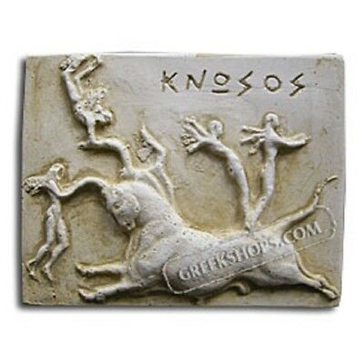 Ancient Greek Bull of Sport Magnet, Made of Casting Stone,