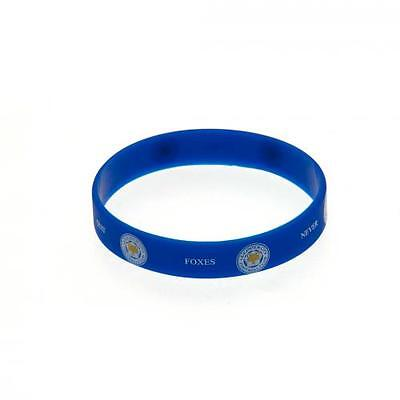 Official Licensed Product Leicester City Silicone Wristband Foxes Never Quit New