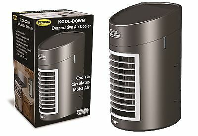 Kool Down Evaporative Air Cooler Fan Portable Home Office Desk Humidifier Cool