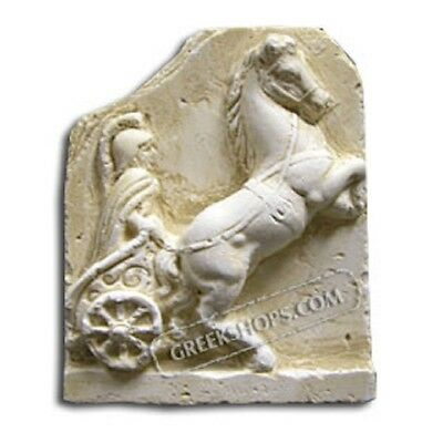 Ancient Greek Chariot Magnet, Made of Casting Stone,