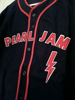 Pearl Jam 2016 Fenway Park Red Sox Tour Jersey 8/5-8/7/16 Boston! L large NEW