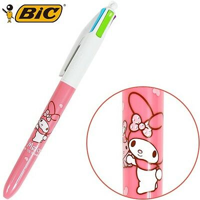 Bic Sanrio My Melody 0.7mm 4 Colors Ballpoint Pen