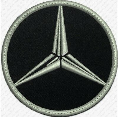 **LOVE IT OR ITS FREE** MERCEDES BENZ logo Embroidered Patch Iron on or sew