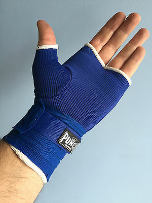 Punch Quickwraps Blue/Black Large only for Muy Thai, Training, Boxing