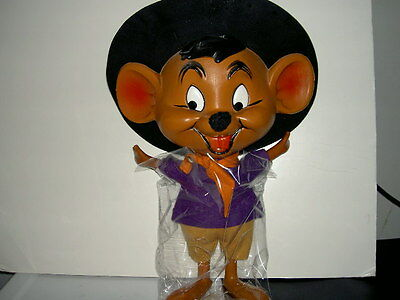 "Rare Wb Warner Bros Looney Tunes Large 21"" Tall Speedy Gonzales Plastic Figure"