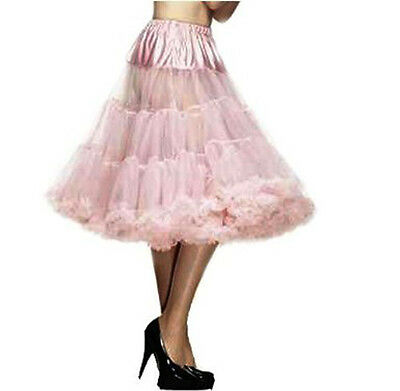 "Pink Petticoat 26"" Long Baby Pink Petti coat Wedding underskirt Hell Bunny"