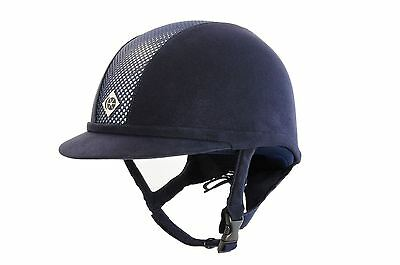 Charles Owen Ayr8 Riding Helmet Black or Navy - PAS 015 / ASTM F1163