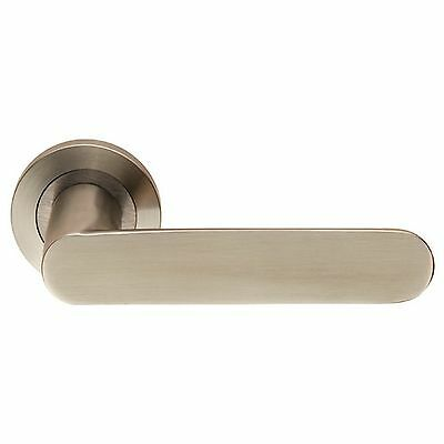 Carlisle Brass - SWL1168SSS - Eurospec Steelworx SWL Parigi Lever on Rose (SET)