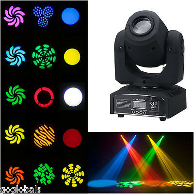 50W DMX-512 LED Spot Moving Head Light Stage Lighting Party Bar Show Disco RGBW