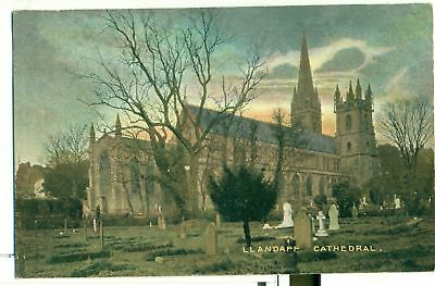 POSTCARD LLANDAFF Cathedral