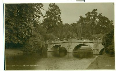 POSTCARD CAMBRIDGE Clare College Bridge