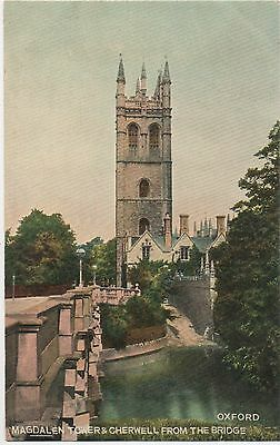 POSTCARD  OXFORD  Magdalen Towers