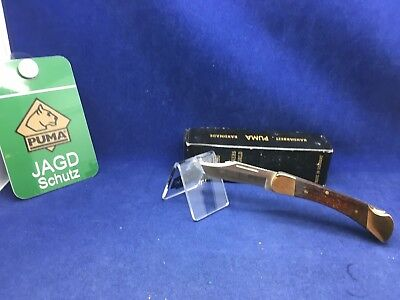 1996 Vintage Puma 960 Cub Knife Jacaranda Wood Handles  Mint In Box #79
