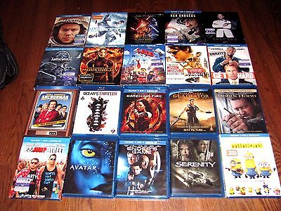 Lot of [20] Blu-ray Movies:*10 are New* Star Wars,The Martian] Please read notes