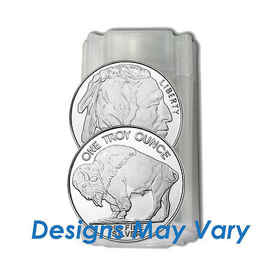 20 Silver 1 Troy oz. Silver Round .999 Fine Generic Rounds - Our Choice