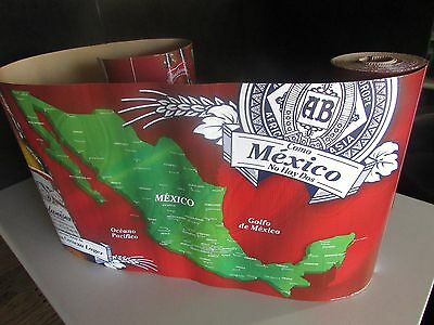 NEW 30' Budweiser Gulf Of Mexico Decorative Roll Banner Beer Country Bud Light
