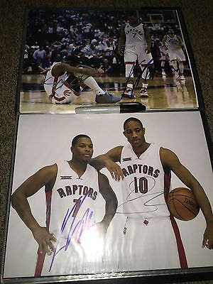 2f9061f3bcaa Demar Derozan Kyle Lowry Signed Autographed 11X14 Photograph Raptors-Proof  Photo