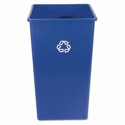 Rubbermaid 3959-73 Square 50 Gallon Recycling Container, Blue (RCP 3959-73 BLU)