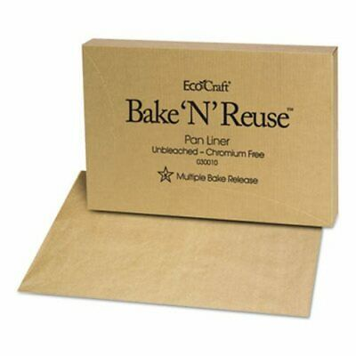 EcoCraft Bake-N-Reuse Pan-Liner, 1000 Sheets (BGC030010)