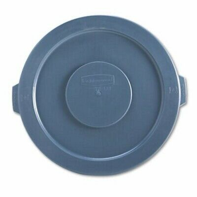 Rubbermaid 2631 Brute 32 Gallon Round Trash Container Lid, Gray (RCP 2631 GRA)