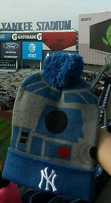 f495f29bc 2016 NY Yankees SGA Star Wars Night R2-D2 Winter Knit Hat on Hand!
