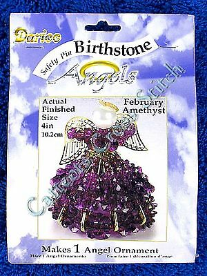 Angel Birthstone Bead Kit #02 ~ February / Amethyst