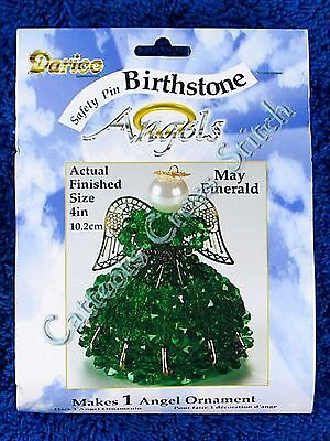 Angel Birthstone Bead Kit #05 ~ May / Emerald