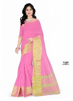 New Designer Sari Indian Saree Ethnic Bollywood Pakistani Wedding Party Wear