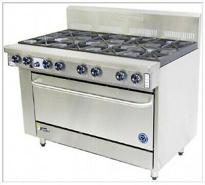 Goldstein Ranges - Gas 8 Burner - High Speed Pure Electric Convection Oven Pfc-8