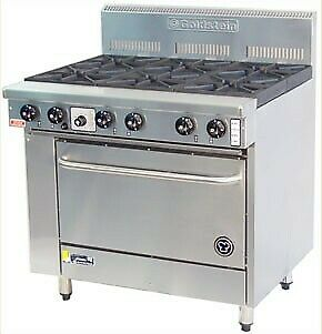 Goldstein Ranges - Gas 6 Burner - 711Mm High Speed Pure Convection Oven Pfc-6-28