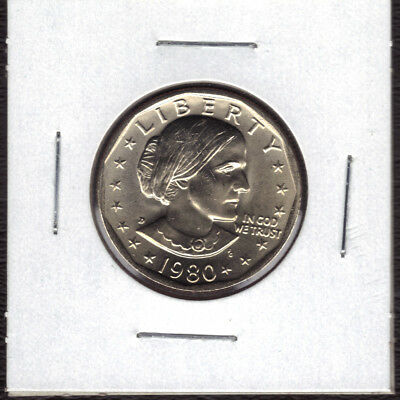 1980-D Uncirculated  Susan B Anthony Dollar