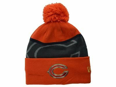 NFL Chicago Bears New Era On Field Sideline Sport Knit Gold Collection Hat