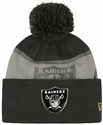 NFLOakland Raiders  New Era On Field Sideline Sport Knit Gold Collection Hat