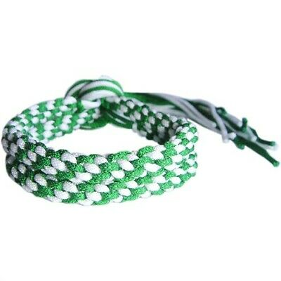 Green & White Muay Thai Thaiboxing Ring Fighter Grading Prajeat Arm Bands