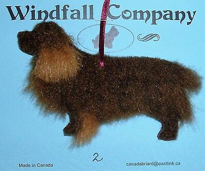 Sussex Spaniel Dog Soft Plush Canine Christmas Ornament # 2
