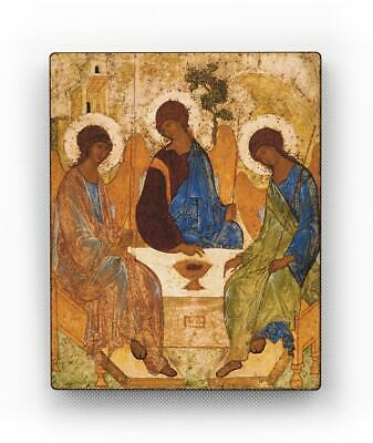 Russian Orthodox Icons. The Holy Trinity. Andrei Rublev. Orthodox Patron Icon